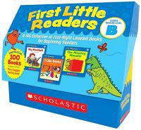 First Little Readers: Guided Reading Level B: A Big Collection of Just-Right Leveled Books for Beginning Readers [With Teacher's Guide]