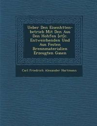 Ueber Den Eisenh Tten-Betrieb Mit Den Aus Den Hoh Fen [Et]c. Entweichenden Und Aus Festen Brennmaterialien Erzeugten Gasen
