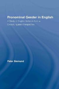 Pronominal Gender in English