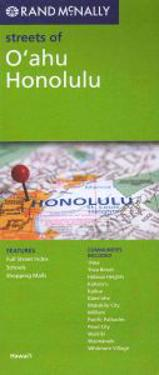 Rand McNally Streets of O'ahu, Honolulu, Hawai'i