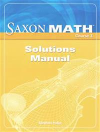 Saxon Math, Course 3: Solutions Manual