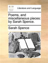 Poems, and Miscellaneous Pieces