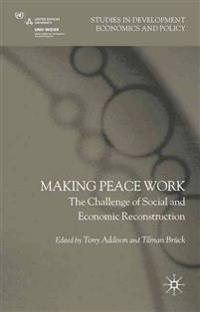 Making Peace Work