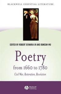 Poetry from 1660 to 1780
