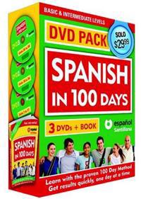 Spanish in 100 Days DVD Pk