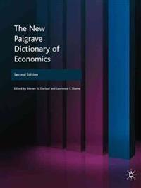 The New Palgrave Dictionary of Economics