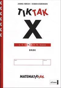 Matematik-Tak 7. kl. X-serien, Brøk