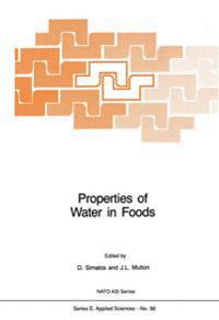 Properties of Water in Foods