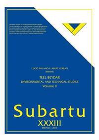 Tell Beydar: Environmental and Technical Studies. Volume II