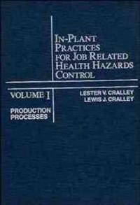 In-Plant Practices for Job Related Health Hazards Control