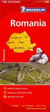 Michelin Romania Map