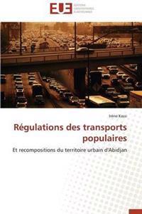 Regulations Des Transports Populaires