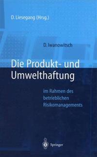 Die Produkt- Und Umwelthaftung