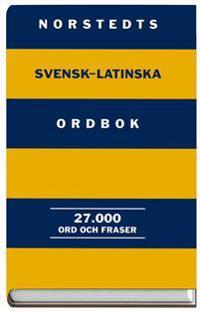 Norstedts svensk-latinska ordbok - 27.000 ord och fraser