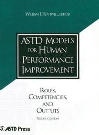 Astd Models for Human Performance Improvement