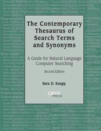 The Contemporary Thesaurus of Search Terms and Synonyms