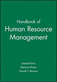 Handbook of Human Resource Management
