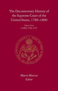 The Documentary History of the Supreme Court of the United States, 1789-1800