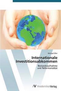 Internationale Investitionsabkommen