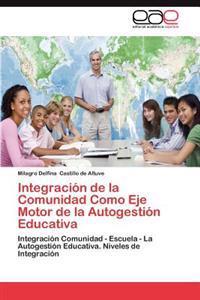 Integracion de La Comunidad Como Eje Motor de La Autogestion Educativa