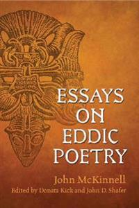 Essays on Eddic Poetry