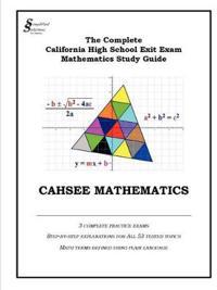 Cahsee Mathematics