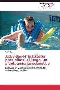Actividades Acuaticas Para Ninos