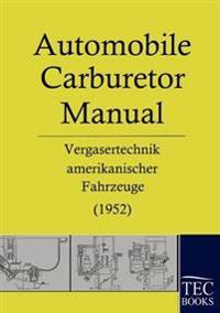Automobile Carburetor Manual