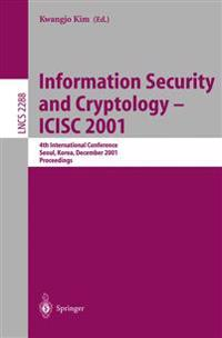 Information Security and Cryptology - ICISC 2001
