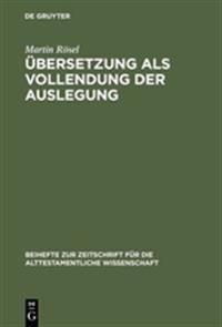bersetzung ALS Vollendung Der Auslegung