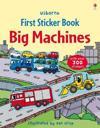 First Sticker Book Big Machines