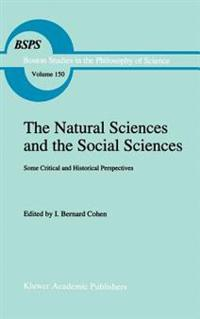The Natural Sciences and the Social Sciences