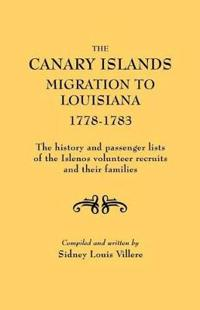 Canary Islands Migration to Louisiana, 1778-1783