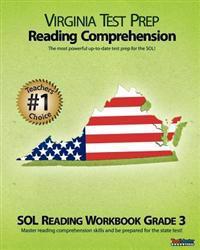 Virginia Test Prep Reading Comprehension Sol Reading Workbook Grade 3