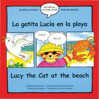 La gatita Lucia en la playa/Lucy the Cat at the beach