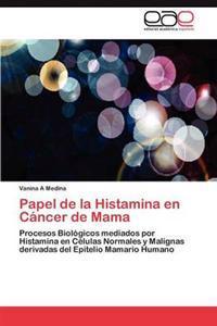 Papel de la Histamina En Cancer de Mama