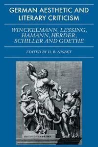 German Aesthetic and Literary Criticism