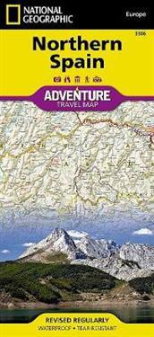 National Geographic Adventure Map Northern Spain