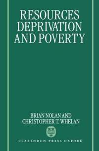Resources, Deprivation and Poverty
