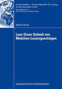 Loss Given Default Von Mobilien-Leasingvertr gen