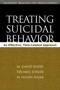 Treating Suicidal Behavior