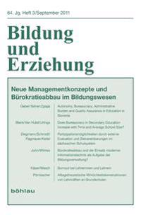 Bildung und Erziehung 3/2011