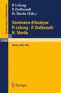 Seminaire D'Analyse P Dolbeault - H Skoda