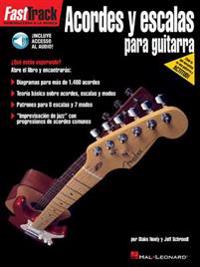 FastTrack Guitar Chords & Scales (Spanish) (Book/Online Audio)