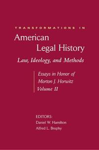 Transformations in American Legal History