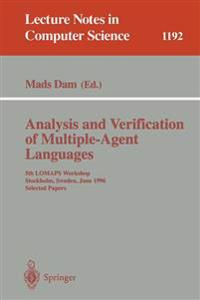 Analysis and Verification of Multiple-Agent Languages