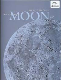 Sky & Telescope's Mirror-Image Moon Map Laminated
