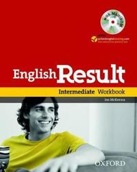 English Result: Intermediate: Workbook with Answer Booklet and MultiROM Pack