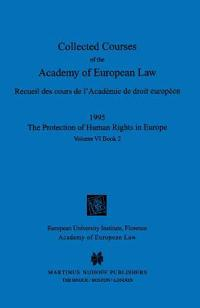 Collected Courses of the Academy of European Law