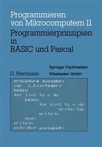 Programmierprinzipien in Basic Und Pascal